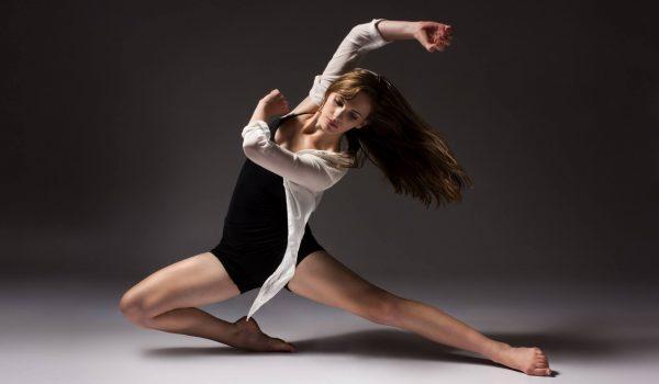 Silhuetas de bailarinos